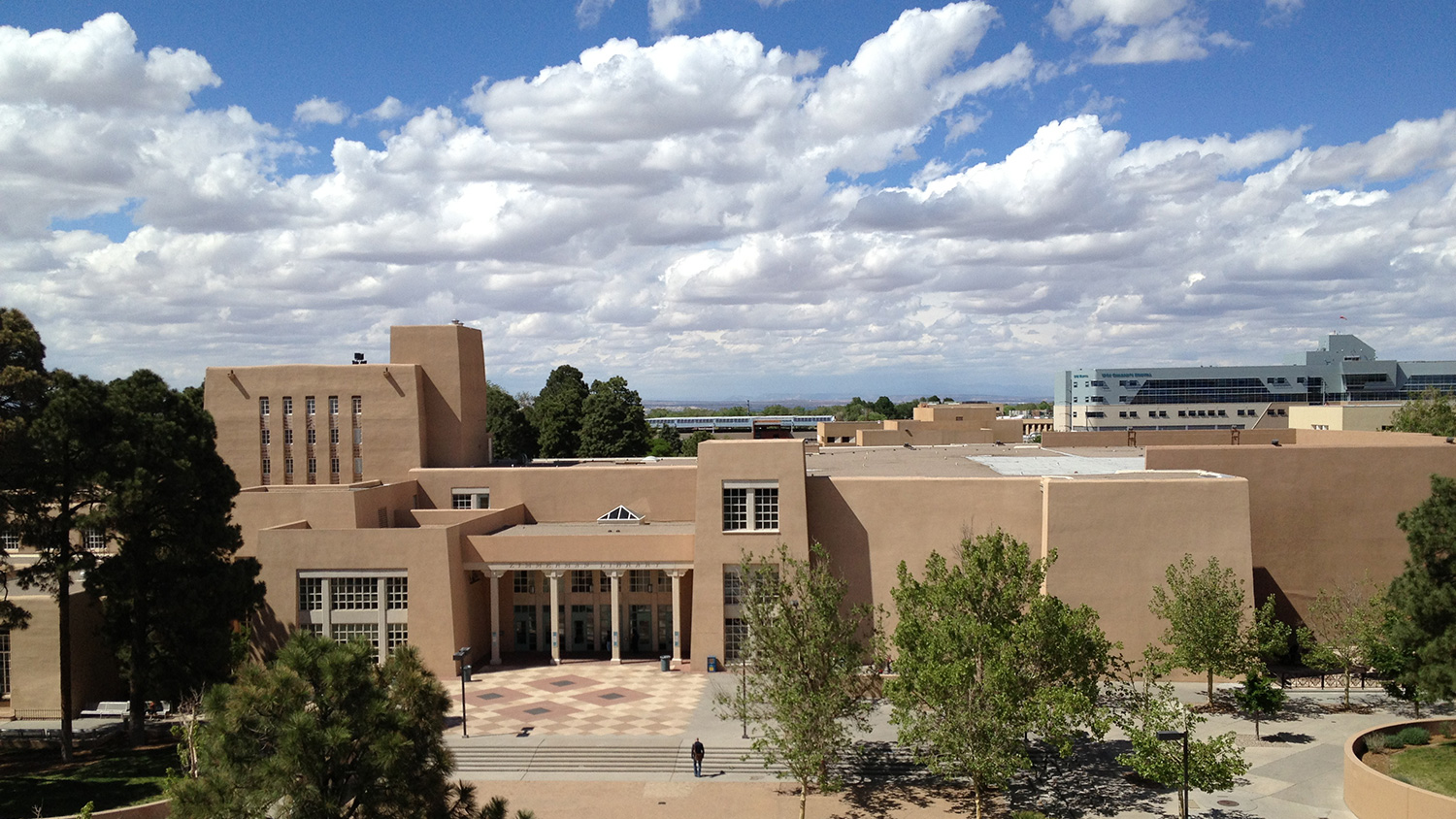University of New Mexico Campus Building